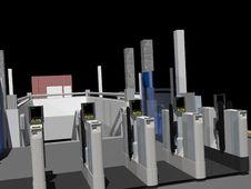 Free Gatelines Stock Images - 22358304