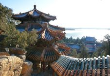 Free Summer Palace Royalty Free Stock Image - 22359346