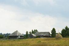 Free Mountain Village Farmhouses Royalty Free Stock Photography - 22359867