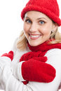 Free Chilly Woman Portrait Royalty Free Stock Image - 22360596