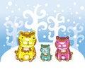 Free Funny Bears At Winter Stock Photos - 22362743