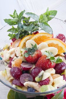 Free Fruit Salad Royalty Free Stock Photography - 22361227