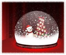 Free Happy Snowman Stock Photos - 22361463