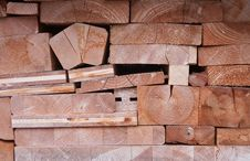 Free Firewood Stacked In A Pile Stock Photos - 22363953