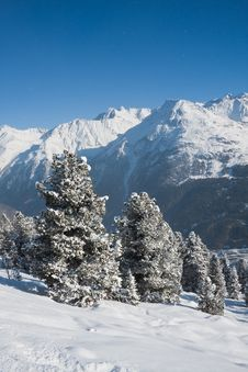 Free Ski Resort  Solden. Austria Stock Photography - 22364162