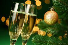 Free Champagne Glasses Stock Photo - 22364970