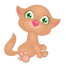 Free Red Kitten Royalty Free Stock Photos - 22366778