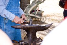 Free Blacksmith Royalty Free Stock Photography - 22366857