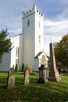 Historic St. Mark S Church - Port Hope, Ontario Royalty Free Stock Photos