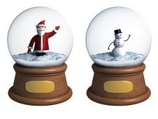 Free Snow Globe Royalty Free Stock Image - 22369816