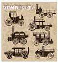Free Steam-punk Cars Royalty Free Stock Images - 22373609
