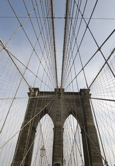 Free Brooklyn Bridge Stock Photography - 22371202