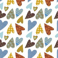 Free Heart Decorative Pattern Stock Images - 22374154