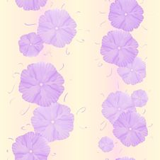 Free Seamless Flowers Pattern Stock Images - 22374774