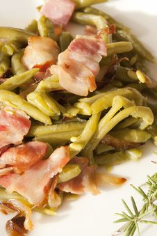 Free Saut�ed Green Beans Stock Images - 22378784