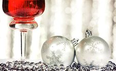 Free Christmas Card Royalty Free Stock Photo - 22379385
