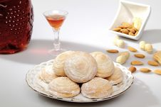 Free Delicious Biscuits Royalty Free Stock Photography - 22379657