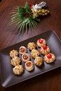 Free Delicious Christmas Pastries Royalty Free Stock Photo - 22380575