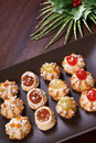 Free Delicious Christmas Pastries Royalty Free Stock Photography - 22380827