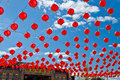 Free Red Lanterns Royalty Free Stock Images - 22384199