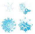 Free Vector Snowflakes Stock Images - 22388934