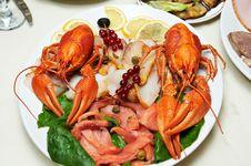 Free Boiled Crawfish Royalty Free Stock Image - 22382856