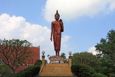Free Buddha Standing Image Stock Images - 22383864