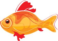 Free Golden Fish Royalty Free Stock Image - 22385146