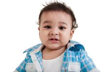 Free Indian Baby Laughing Royalty Free Stock Image - 22387486