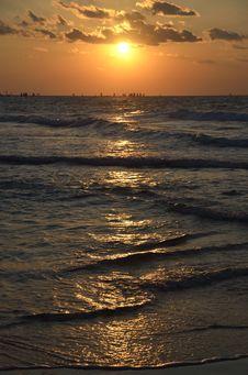 Free Mediterranean Sunset. Stock Image - 22389001
