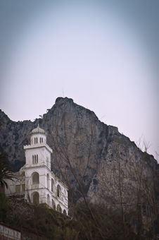 Capri Medieval Church Royalty Free Stock Photos