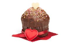 Free Valentine Muffin Royalty Free Stock Photography - 22392897