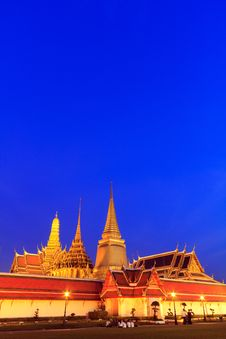 Free Thai Grand Palace Temple Stock Photo - 22393960