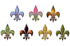 Free Fleur De Lis Royalty Free Stock Photo - 22394435