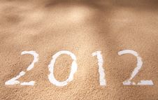Free Newyear 2012 Royalty Free Stock Image - 22395036