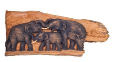 Free Three Elephant Stock Images - 22395234