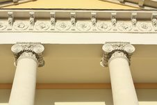 Free Facade In Classical Style Stock Image - 22395421