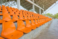 Free Seats Cheering. Royalty Free Stock Image - 22395826