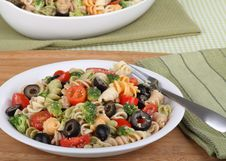 Free Pasta Salad Royalty Free Stock Images - 22398639