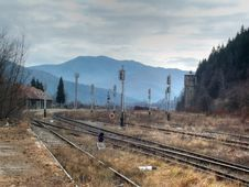 Free Bicaz Station HDR Stock Photos - 22398923