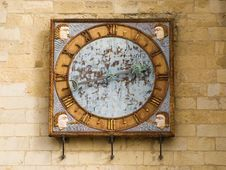 Free Ancient Clock Royalty Free Stock Photo - 2240145