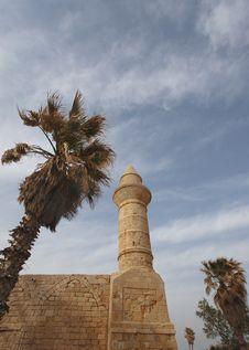 Ancient Mosque Stock Photo