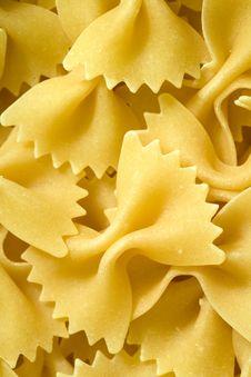 Free Farfalle Pasta Royalty Free Stock Image - 2241046