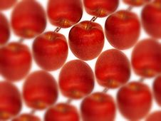 Free Red Apples Background Stock Photo - 2241130
