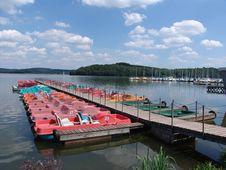 Free Botalsee Boat Docks Royalty Free Stock Photos - 2241368
