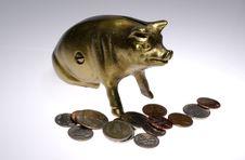 Free Brass Bank Stock Photos - 2241383