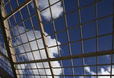 Free Clouds Through Bars Royalty Free Stock Image - 2242146