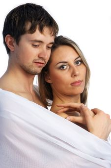 Girl And A Man Together 9 Royalty Free Stock Image