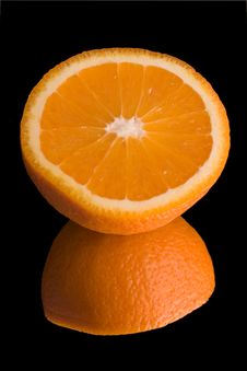 Free Orange On Mirror Stock Images - 2244554
