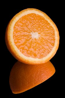 Free Orange On Mirror Royalty Free Stock Images - 2244559